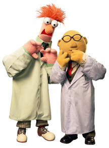dr bunsen honeydew and assistant beaker