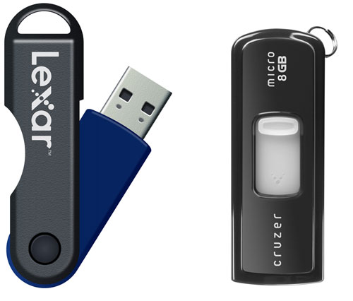 Cheap 8GB USB Drives Make DVD Data Transfers Obsolete