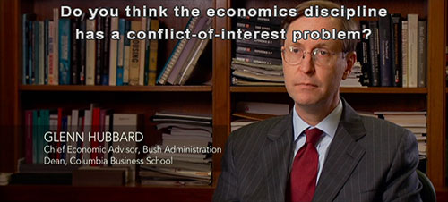 economics profession conflict of interest