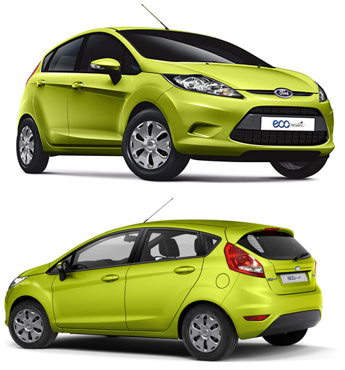 Ford Fiesta Econetic Diesel Car
