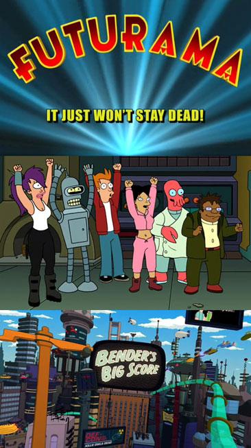 Futurama: Futuristic Animated TV Series by Simpsons Creator Matt Groening