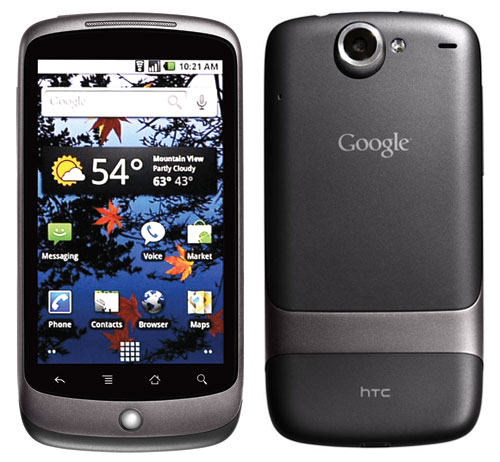 Google Nexus One Android Mobile SmartPhone