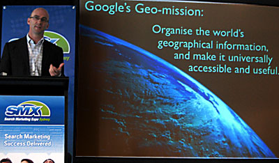 googles geo mission smx sydney