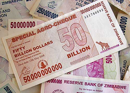 inflation in zimbabwe