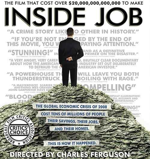 inside job documentary dvd