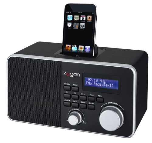 Kogan DAB+ Digital Radio With WiFi and iPod Dock