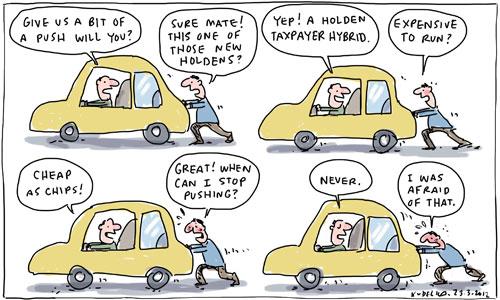 Australian government car industry subsidies