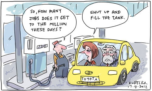 Australian government  car industry subsidies