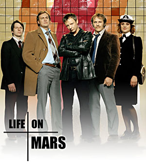 cast of Life on Mars BBC TV show