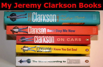 My Jeremy Clarkson Books