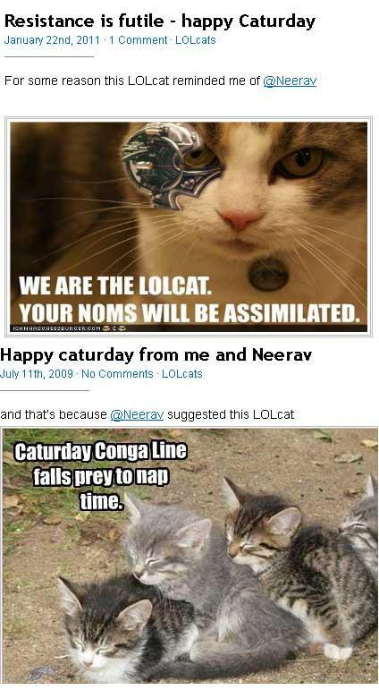 Neerav likes lolcats
