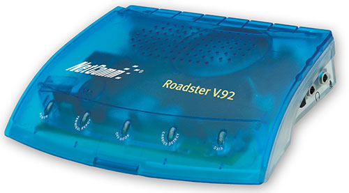 netcomm roadster v92 56k dialup modem
