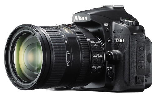 Nikon D90 with 18-200 VR II Lens