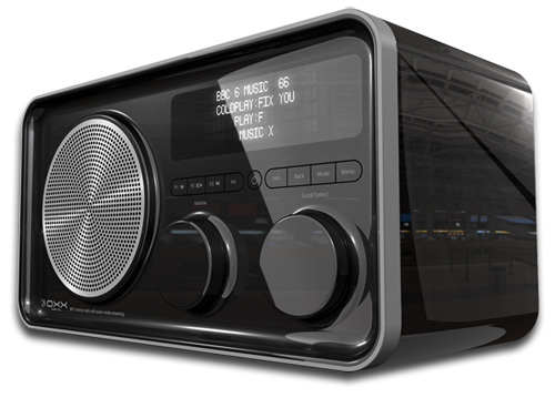 OXX Classic DAB+ Digital Radio with Wifi Radio and LAN port