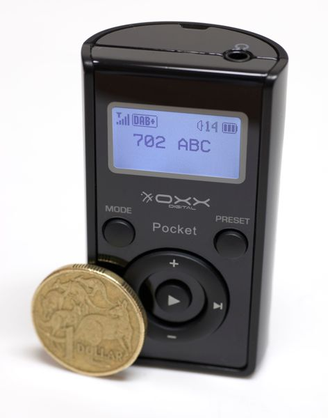 OXX Digital Pocket Digital Radio