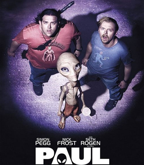 PAUL Sci-fi Comedy Movie starring Simon Pegg and Nick Frost