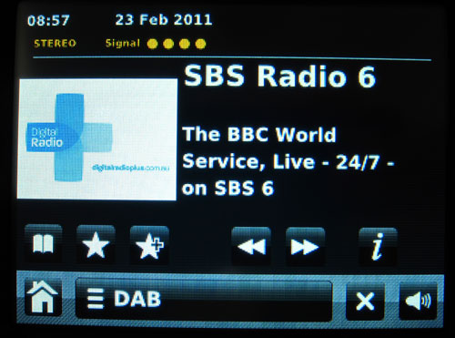 SBS 5 Digital Radio BBC World Service Relay