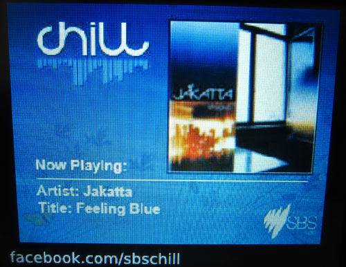 SBS Chill digital radio slideshow 2
