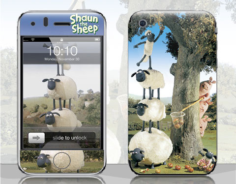 Shaun the Sheep - Smirkabout iPhone Skin