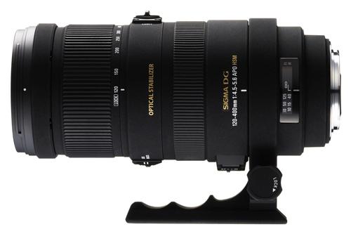 Sigma 120-400mm (180-600mm 35mm equiv) F4.5-5.6 DG OS HSM Lens (review)