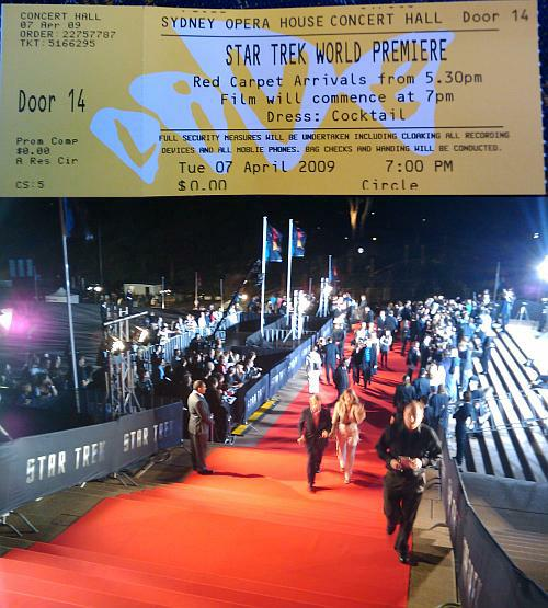 Star Trek 11 Movie Premiere (Sydney Opera House)