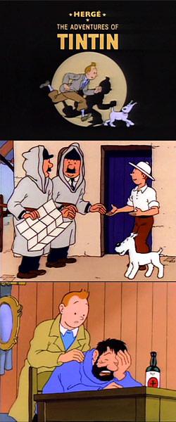 The Adventures Of Tintin ABC2 Digital TV