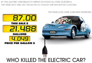 who killed the electric car movie review