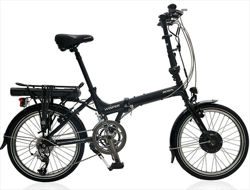 wisper 805fe folding electric bike  road test review