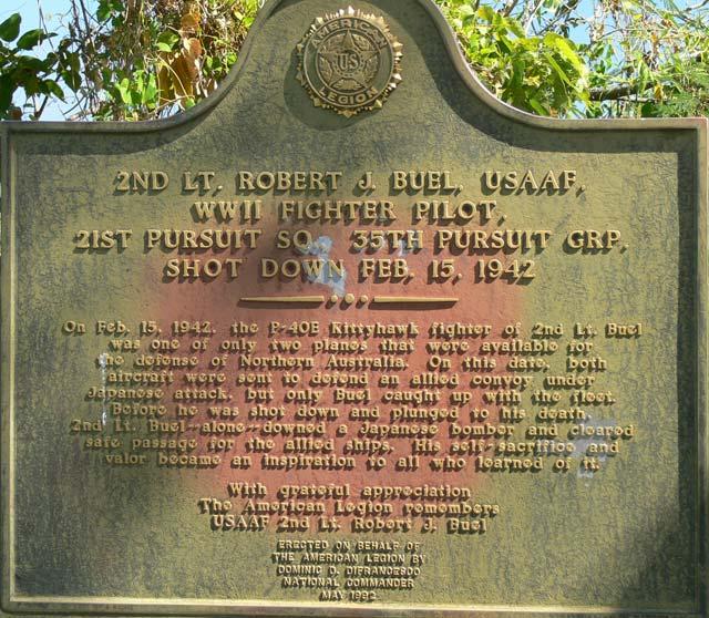 WW2 memorial darwin